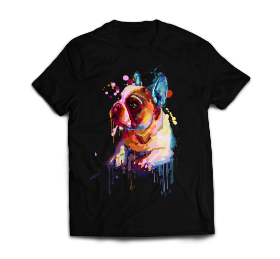 T-shirt - French Bulldog