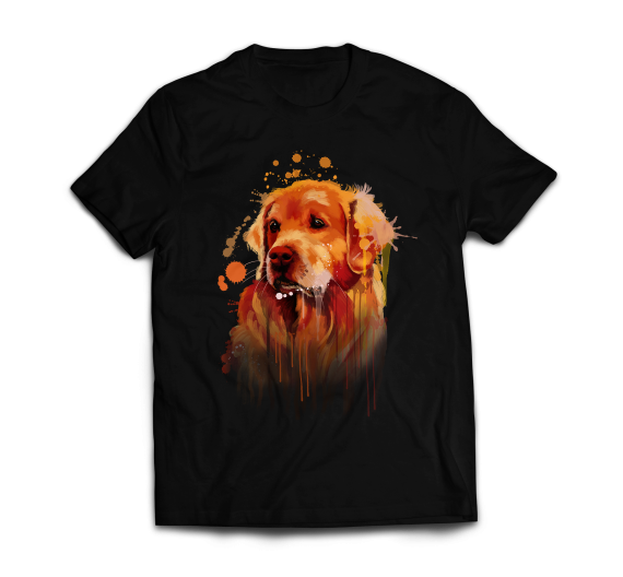 T-shirt  - Golden Retriever