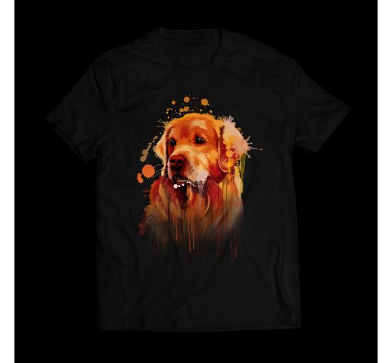 T-shirt  - Golden Retriever