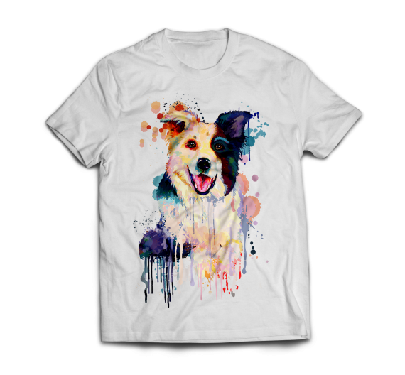 T-shirt -Border Collie