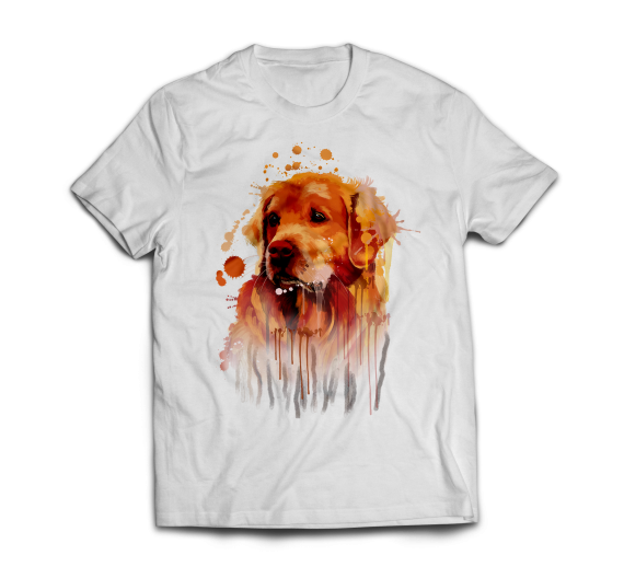 T-shirt  - Golden Retriever2