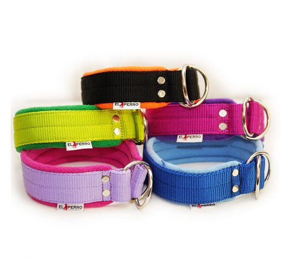 Collar JUICY FLEECE COMFORT CHOKE 4 cm