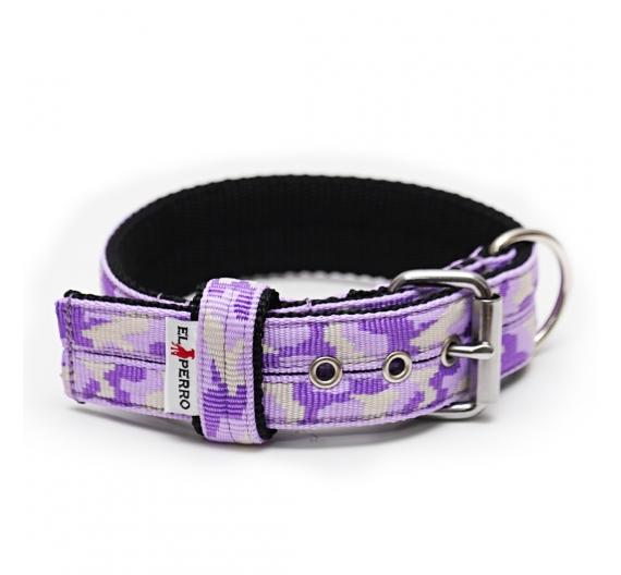 Collar CAMOUFLAGE JUICY TRIPLE KENNEL 4 cm
