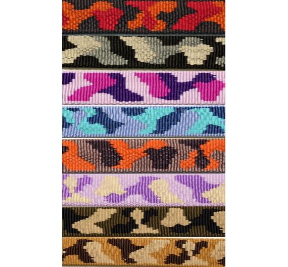 Collar FLEECE COMFORT CHOKE CAMOUFLAGE COLLAR 2,5 cm