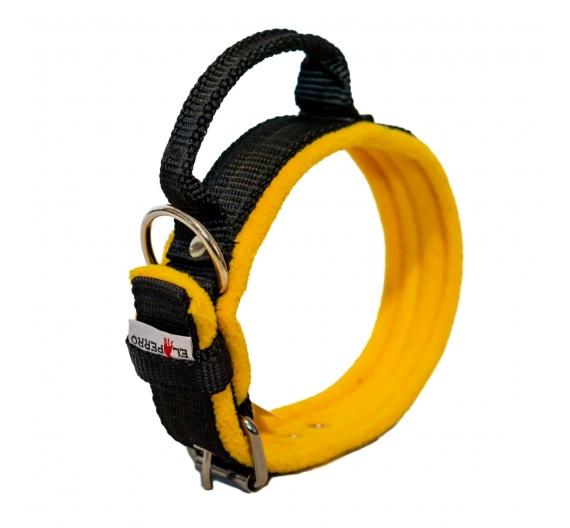 Obroża SAFE GRIP FLEECE COMFORT 5 cm