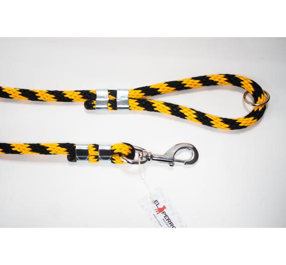 Smycz EXCLUSIVE CLASSIC CHROME 180 cm/16 mm