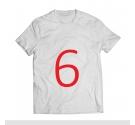 T-shirt - French Bulldog WHITE