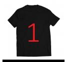 T-shirt - French Bulldog BLACK