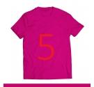 T-shirt - French Bulldog FUCHSIA