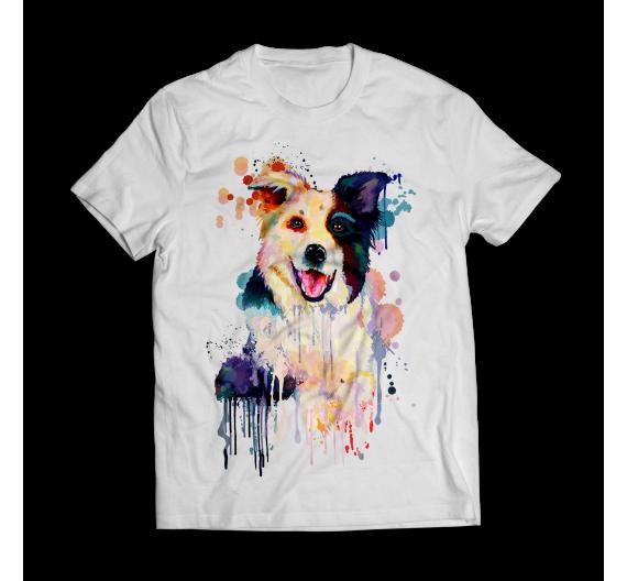 T-shirt -Border Collie