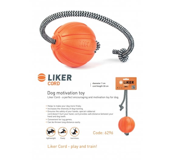 LIKER CORD 9 - - Dog play & train