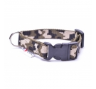 CAMOUFLAGE PUPPY CLICK COLLAR 2CM