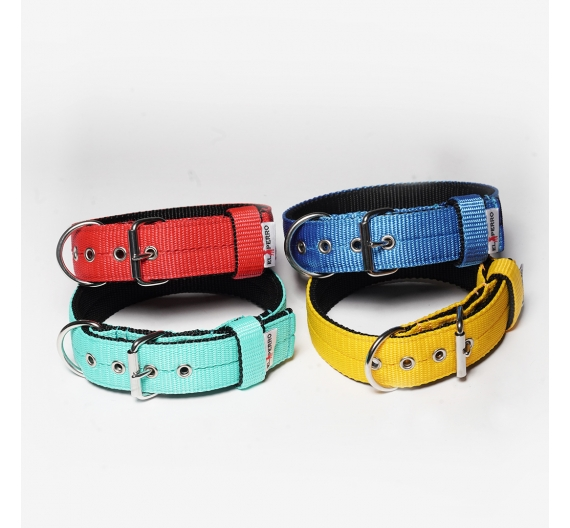 Collar JUICY TRIPLE KENNEL 4 cm