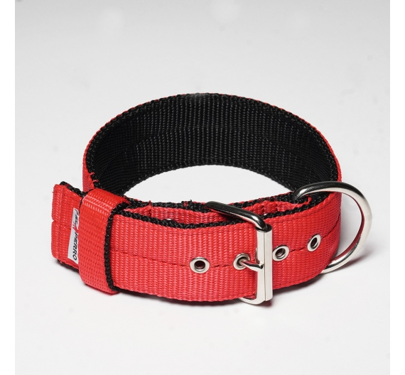 Obroża z półkolem  JUICY TRIPLE KENNEL 5 cm