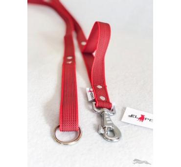 RUBBER leash 2,5 cm
